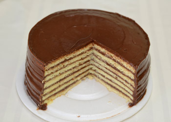 Seven Layer Chocolate Cake